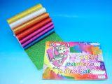 Blok barevných papírů A5 Brokát 8 ks