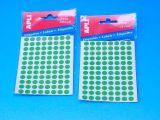 Etikety APLI pr. 8mm zelené  (2047)