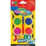 Colorino vodové barvy  40mm Jumbo 8 barev