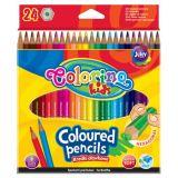 Colorino pastelky hexagonalní 24 ks