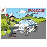 Omalovánky A5 Policie