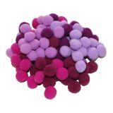 Bambule - fialové 100 ks