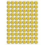 Samolepící kamínky - žluté 140 ks