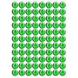 Samolepící kamínky - zelené 240 ks