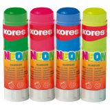 Tuhé lepidlo KORES Neon blistr 20 g