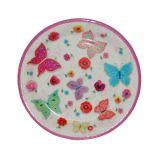 Papírový talíř - Motýlci, malý 8 ks