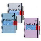 PUKKA blok A5 spirálový Metallic-6336