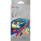 Colorino pastelky Artist akvarelové 12 ks