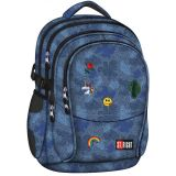 Studentský batoh St.Right Jeans & Badges BP01
