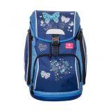 BelMil školní batoh 404-31 Blue Butterflie