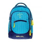 BelMil školní batoh 338-27 Peacock Blue