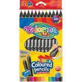 Colorino pastelky Jumbo Trio Black 12 barev