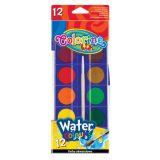 Colorino vodové barvy 28mm 12 barev