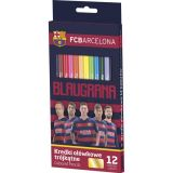 ASTRA pastelky FC Barcelona 12 barev