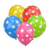 Balónky nafukovací - Puntíky