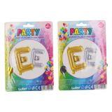 Balonky nafukovací ve tvaru písmene E