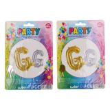 Balonky nafukovací ve tvaru písmene G
