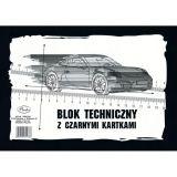Skicák A4 8l černý