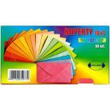 Obálky barevné 124x89mm 100 ks mix