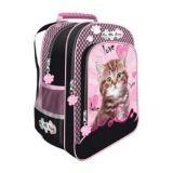 Školní batoh My little friend - kočka B3