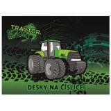 Desky na čísla Traktor