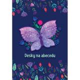 Desky na abecedu Motýl