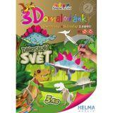 3D omalovánky Dinosauří svět