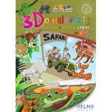 3D omalovánky Safari