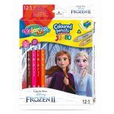 Colorino pastelky Frozen Jumbo Trio 13 barev