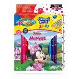 Colorino pastelky Minnie Jumbo Trio 13 barev