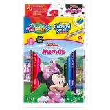 Colorino pastelky Minnie Trio 13 barev