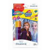 Colorino pastelky Frozen Duo Trio 24 barev
