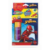 Colorino pastelky Spiderman Duo Trio 24 barev
