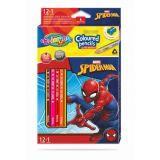 Colorino pastelky Spiderman Trio 13 barev