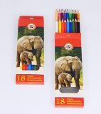 souprava pastelek školních 3553 18 ks zvířata