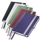 Zápisník Style, titanově modrá, linkovaný, A6, 80 listů, LEITZ