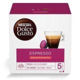 Kapsle do kávovaru, 16 ks, NESCAFÉ Dolce Gusto Espresso, bezkofeinu ,balení 16 ks