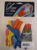 Balónky, různé velikosti a tvary, mix barev ,balení 20 ks