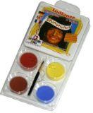 Sada barev na obličej - Indián, EULENSPIEGEL