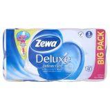 Toaletní papír, 3vrstvý, 16 rolí,  ZEWA Deluxe, bílý ,balení 16 ks