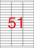 Etiketa, ILC, 70x16,9 mm, 5100 ks/bal., APLI ,balení 100 ks