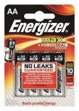 Batterie, AAA (mikrotužková), 4 ks, ENERGIZER Max ,balení 4 ks