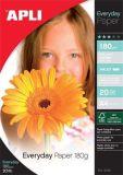 Fotografický papír Everyday, do inkoustové tiskárny, lesklý, A4, 180g, APLI ,balení 20 ks