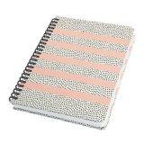Spirálový sešit Jolie® Sweet Dots, 162x215 mm, 120 listů, tvrdý obal, SIGEL