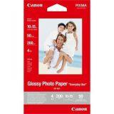 Fotografický papír, do inkoustové tiskárny, lesklý, 10x15 cm, 200g, CANON ,balení 100 ks