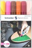 120297 Akrylové popisovače Paint-It 320, sada 6 barev, 4 mm, SCHNEIDER