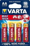 Baterie, AA (tužková),  4 ks, VARTA MaxTech