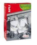 Cenové etikety, bílá, 11 x 29mm, APLI