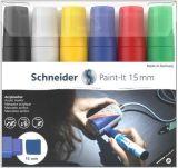 120396 Akrylový popisovač Paint-It 330, sada 6 barev, 15 mm, SCHNEIDER