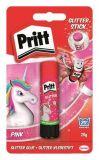 Lepidlo Pritt Pink Unicorn, se třpytkami, 20 g, HENKEL